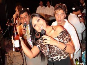 Tula Rodríguez , Kaliente , Cumbia selvática , El Huaralino , Mega Show