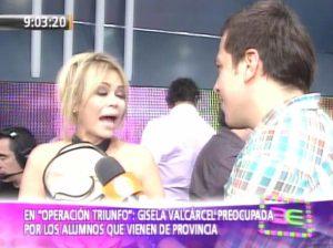 Gisela Valcárcel , Videos de Espectáculos , Operación Triunfo , Alberto Moratinos