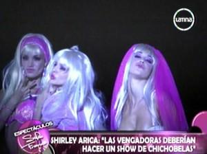 Shirley Arica , Las Vengadoras , Las Justicieras , Maricris Rubio , Tilsa Lozano , Giselle Patrón , Videos de Espectáculos