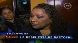 farándula peruana , confesiones , Estados Unidos , El valor de la verdad , Bartola , Lucía de la Cruz
