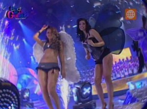 Esto es Guerra , Desfiles , Melissa Loza , Rafael Cardozo , Videos de Espectáculos , América Televisión