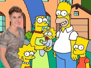 Justin Bieber , Los Simpson , The Fabulous Baker Boy , Al Jean
