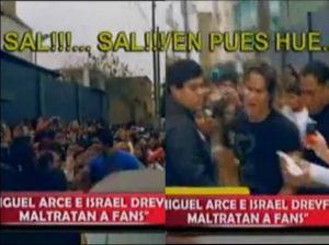 Miguel Arce , Israel Dreyfus , Amor Amor Amor , Twitter , Videos de Espectáculos , Fiorella Cayo , Combate