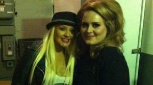 peso , actriz , Cantante , Christina Aguilera , Adele