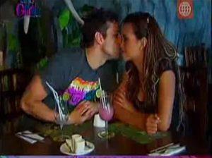 Angie Arizaga , Nicola Porcella , Esto es Guerra , Video de Espectáculos