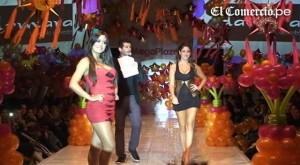 Desfile de modas, Tilsa Lozano, Larissa Riquelme
