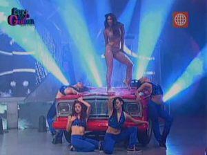 Esto es Guerra , Melissa Loza , Mathías Brivio , Gino Pesaressi , Videos de espectáculos