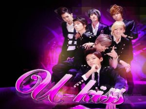 U-Kiss , El Baile del Caballo , U-Kiss 7 Stop Girl , Facebook , Jockey Club del Perú , Estadio Monumental