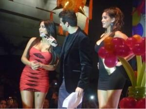Larissa Riquelme , Tilsa Lozano , C.C. Mega Plaza , Giselle Patrón , Las Vengadoras