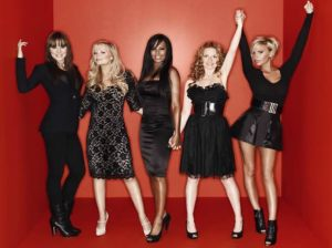 Spice Girls , Picadilly , Factor X , Jennifer Saunders , Victoria Beckham