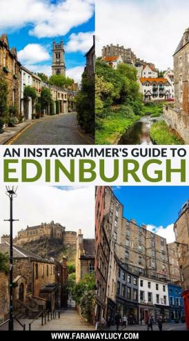 An instagrammer's guide to Edinburgh, the capital of Scotland. This guide will show you the best (and most unique) photography spots in Edinburgh including Calton Hill, Victoria Street, Edinburgh Castle, Dean Village, National Museum of Scotland, Circus Lane and the Vennel.