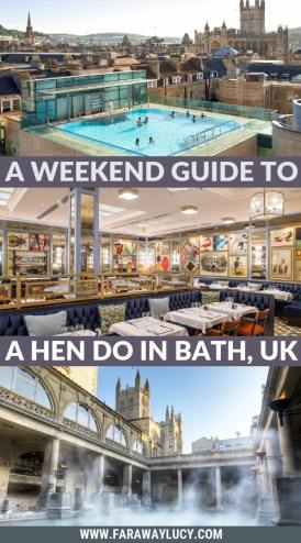 Bath Hen Do: How to Spend a Weekend in Bath, England, UK. Hen party Bath. Hen weekend Bath. Bath hen do ideas. Bath hen party ideas. Bath hen do activities. Bath weekend breaks. Bath city breaks. Where to stay in Bath. Trips to Bath. Weekend breaks Bath. Things to do in Bath. What to do in Bath. Bath attractions. Places to visit in Bath. Things to see in Bath. Bath tourism. Visit Bath. Trip to Bath. Click through to read more...