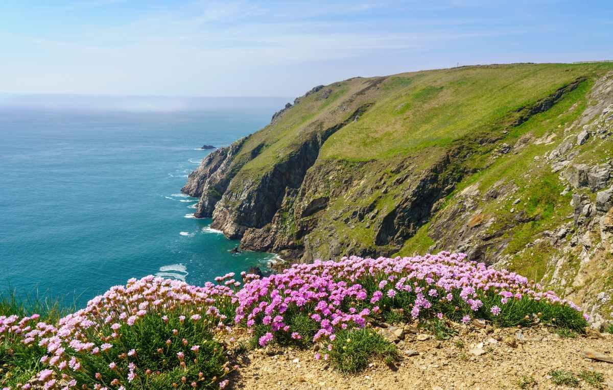 rocky-shoreline-on-lundy-island-on-sunny-day