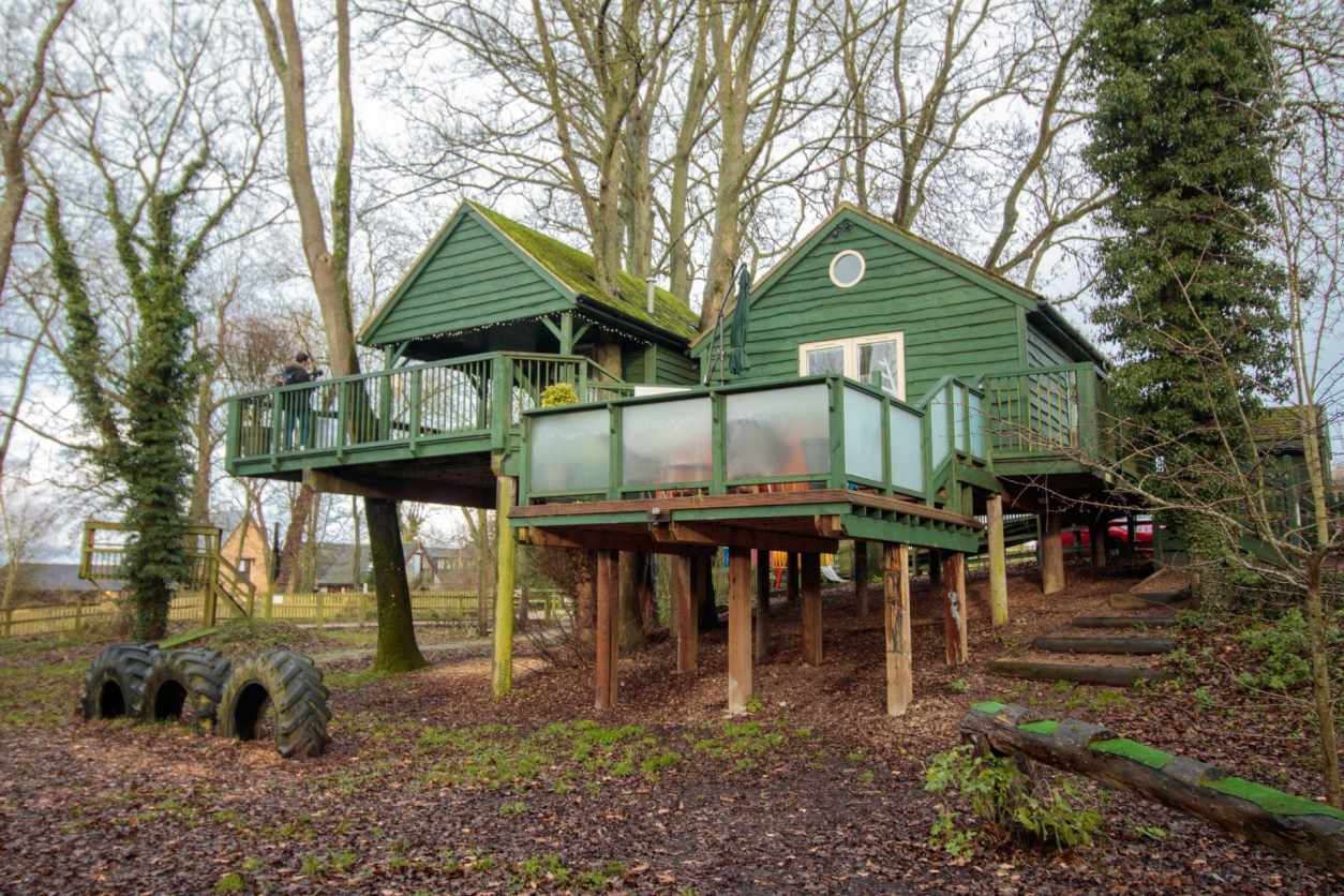 wills-tree-house-treehouse-breaks-uk-green-treehouse-in-england-on-stilts-in-woodland