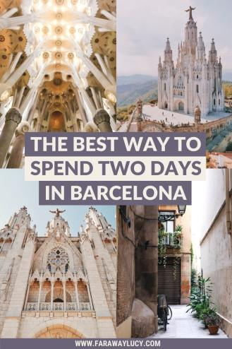 The Best Way to Spend Two Days in Barcelona [Itinerary]. Barcelona in two days. Barcelona Spain. Barcelona Spain things to do in. Things to do in Barcelona. Places to see in Barcelona. Places to visit in Barcelona. What to do in Barcelona. What to see in Barcelona. Weekend in Barcelona. Barcelona weekend. Barcelona photography. Barcelona Spain photography. Barcelona travel guide. Barcelona travel tips. Barcelona travel photography. Barcelona travel blog. Click through to read more...