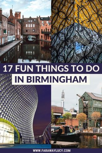 17 Fun Things To Do in Birmingham UK. This Birmingham city guide will show you all the best things to do in Birmingham, from activities and shopping to places to eat and drink. Click through to read more...
