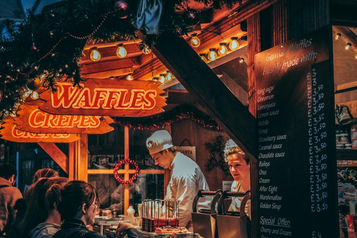 german-waffles-and-crepes-stand-at-birmingham-frankfurt-christmas-market-fun-things-to-do-in-birmingham