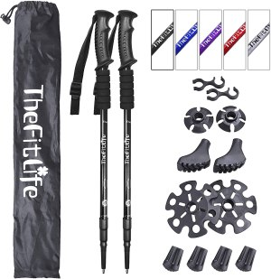 thefitlife-hiking-walking-trekking-poles-with-antishock-and-quick-lock-system-collapsible-and-ultralight-for-hiking-camping-mountaining-backpacking-walking-trekking