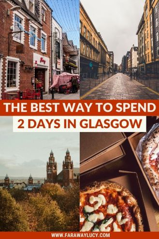 The Best Way to Spend 2 Days in Glasgow [Itinerary]. This weekend in Glasgow itinerary will show you all the best places to visit, eat and drink! Click through to read more...