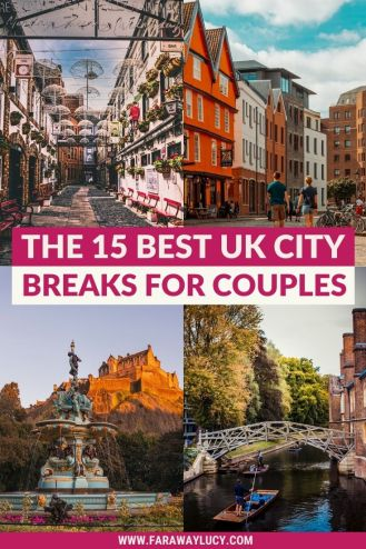 The 15 Best UK City Breaks for Couples You Need to Go On. Looking for a romantic weekend getaway in the UK? This article will share the most romantic UK city breaks you and your other half need to go on! Click through to read more...