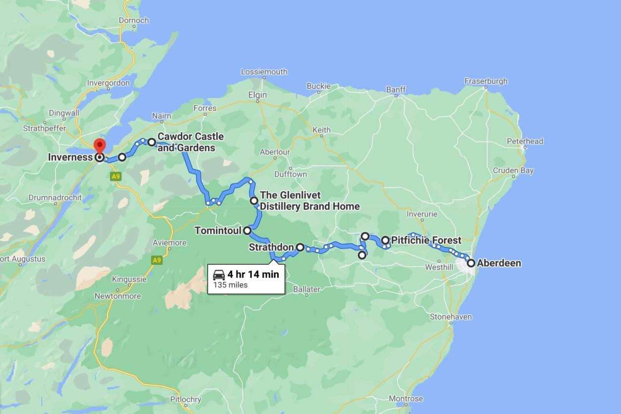highlands-tourist-route-google-maps