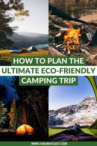 How to Plan the Ultimate Eco-Friendly Camping Trip. From eco-friendly camping hacks, tips and tricks, to the best eco-friendly camping equipment you need to take with you, this guide will show you the best way to take care of the planet while sleeping under the stars. Click through to read more...