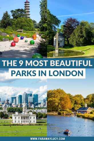 The 9 Most Beautiful Parks in London You Need to Visit. These beautiful London parks and gardens definitely warrant a visit, especially in summer. Click through to read more...