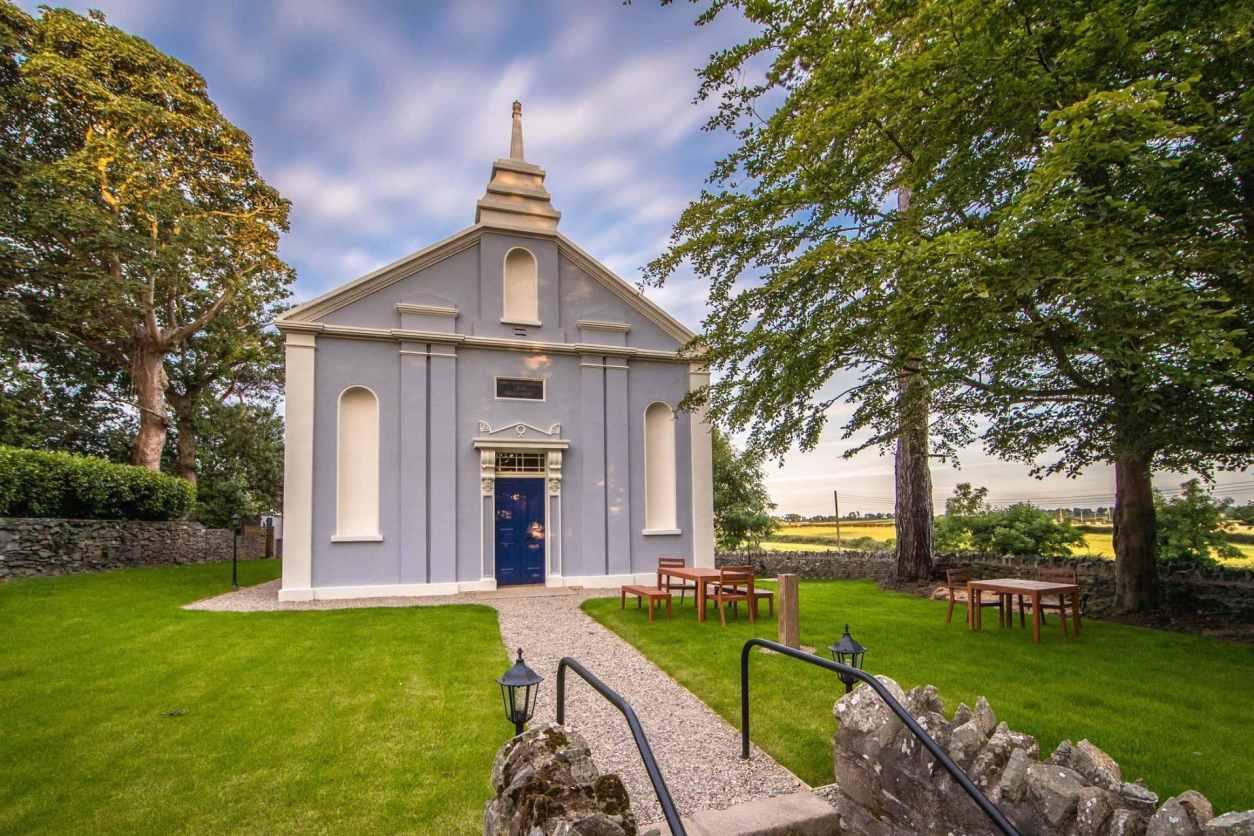 blue-church-in-green-garden-quarry-hill-church-strangford-co-down