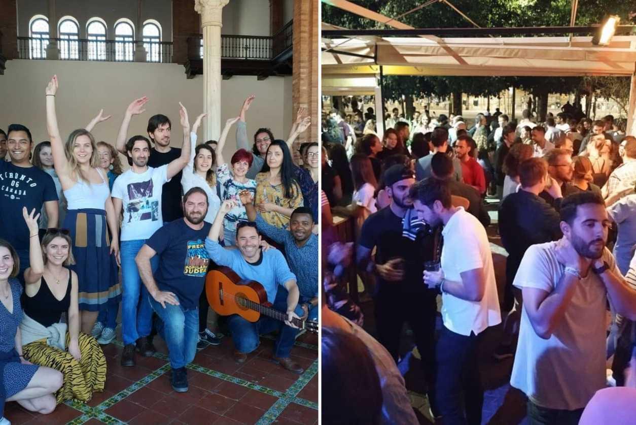 groups-of-people-at-a-intercambios-sevilla