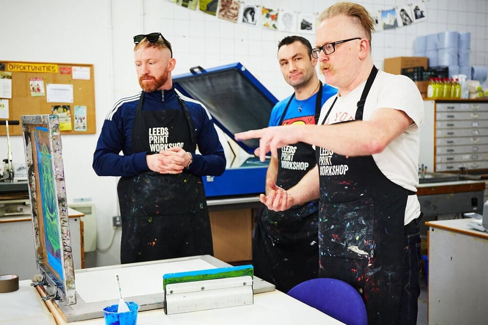 three-men-at-leeds-print-workshop