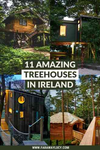 11 Amazing Treehouses in Ireland That You Need to Stay In. Whether you're looking for a romantic retreat or a family holiday, you'll love these Ireland treehouses. Click through to read more...