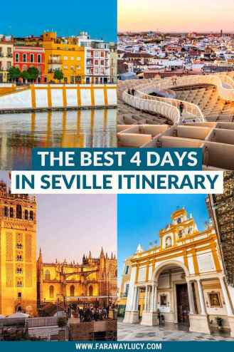4 Days in Seville Itinerary: The Best Way to See Seville. If you're planning on spending 4 days in Seville, then make sure you add these things to your Seville itinerary! Click through to read more...