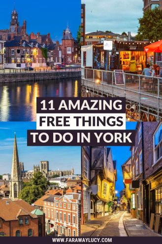 11 Amazing Free Things to Do in York [2021]. From historical churches and beautiful gardens to free events and must-visit museums, you'l love these 11 amazing free things to do in York! Click through to read more...