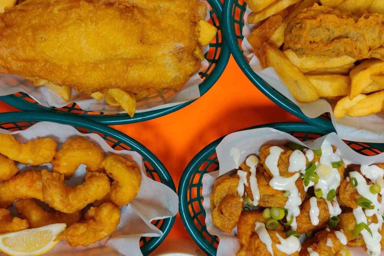 fish-and-chips-at-JJs-vish-and-chips-vegan-restaurants-leeds