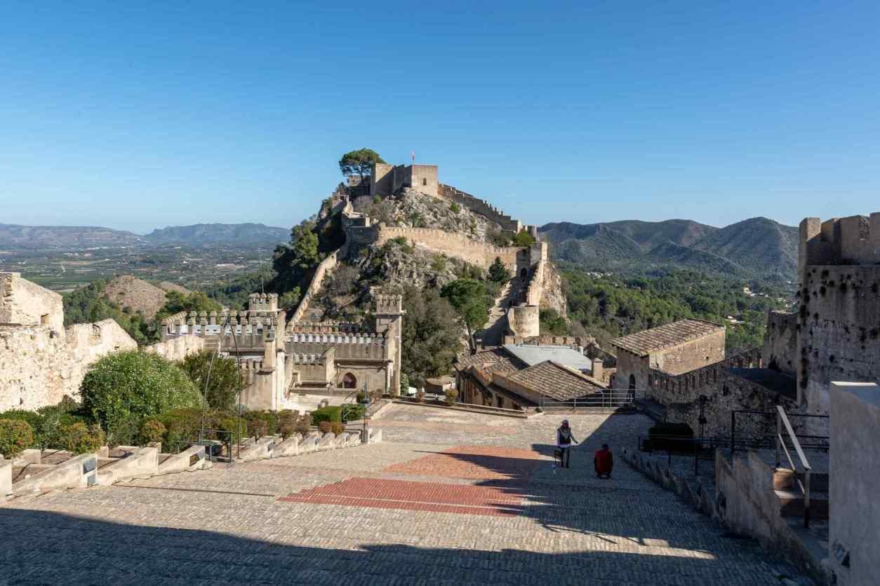 xàtiva-castle-sat-on-hill-on-sunny-day