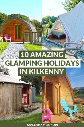 Glamping Kilkenny: 10 Amazing Places You Need to Stay At. From yurts and shepherds huts to bell tents and pods, here are 10 amazing glamping holidays in Kilkenny. Click through to read more...