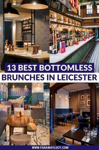 Bottomless Brunch Leicester: 13 Best Brunches You Need to Try. From pizza places to gastropubs to Latin American cuisine, here are the 13 best places to go for bottomless brunch in Leicester! Click through to read more...