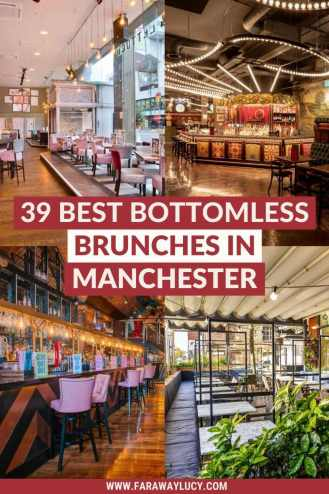 Bottomless Brunch Manchester: 39 Best Brunches You Need to Try. From Latin American food to Indian cuisine to classic fish and chips, here are the 39 best places to find bottomless brunch in Manchester. Click through to read more...