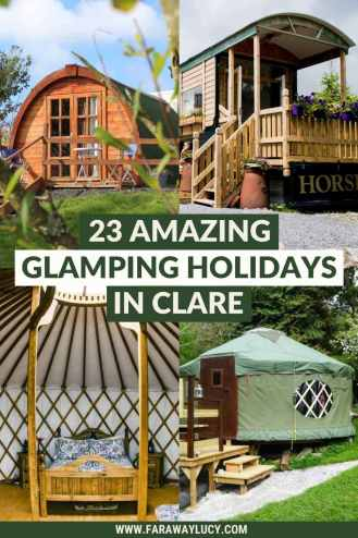 Glamping Clare: 23 Amazing Places You Need to Stay At. From glamping pods and shepherds huts to yurts and bell tents, here are 23 amazing glamping holidays in Clare. Click through to read more...