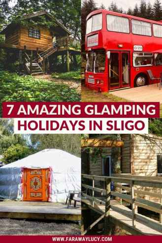 Glamping Sligo: 7 Amazing Places You Need to Stay At. From treehouses and shepherds huts to yurts and converted buses, here are 7 amazing glamping holidays in Sligo. Click through to read more...