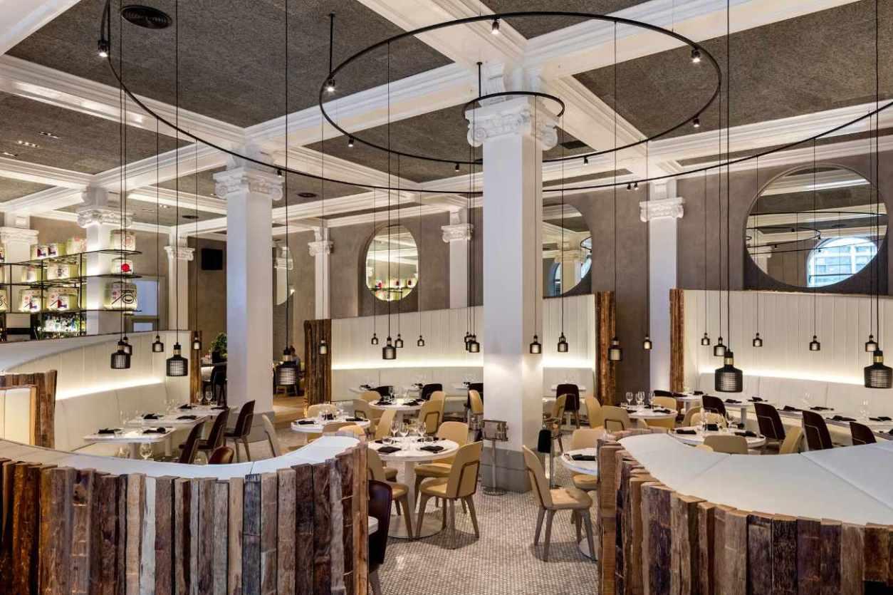 classy-interior-of-peter-street-kitchen-restaurant-bottomless-brunch-manchester