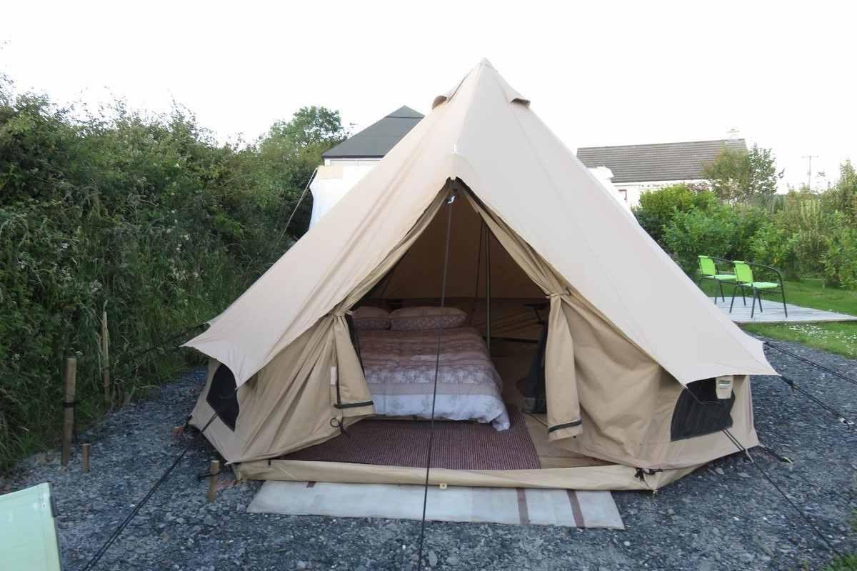 shannon-estuary-bell-tent-on-gravel