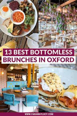 Bottomless Brunch Oxford: 13 Best Brunches You Need to Try [2021]. From bottomless pizza to Caribbean cuisine to classic Full Englishes, here are the 13 best places to go for bottomless brunch in Oxford! Click through to read more...