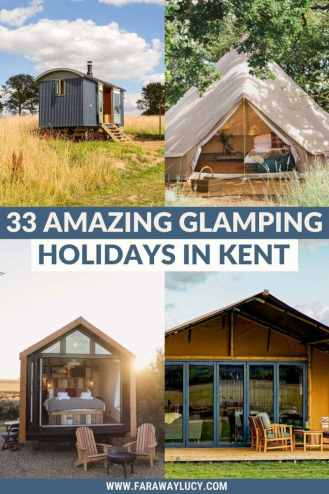 Glamping Kent: 33 Amazing Places You Need to Stay At [2021]. From treehouses and shepherds huts to bell tents and safari tents, here are 33 amazing glamping holidays in Kent. Click through to read more...