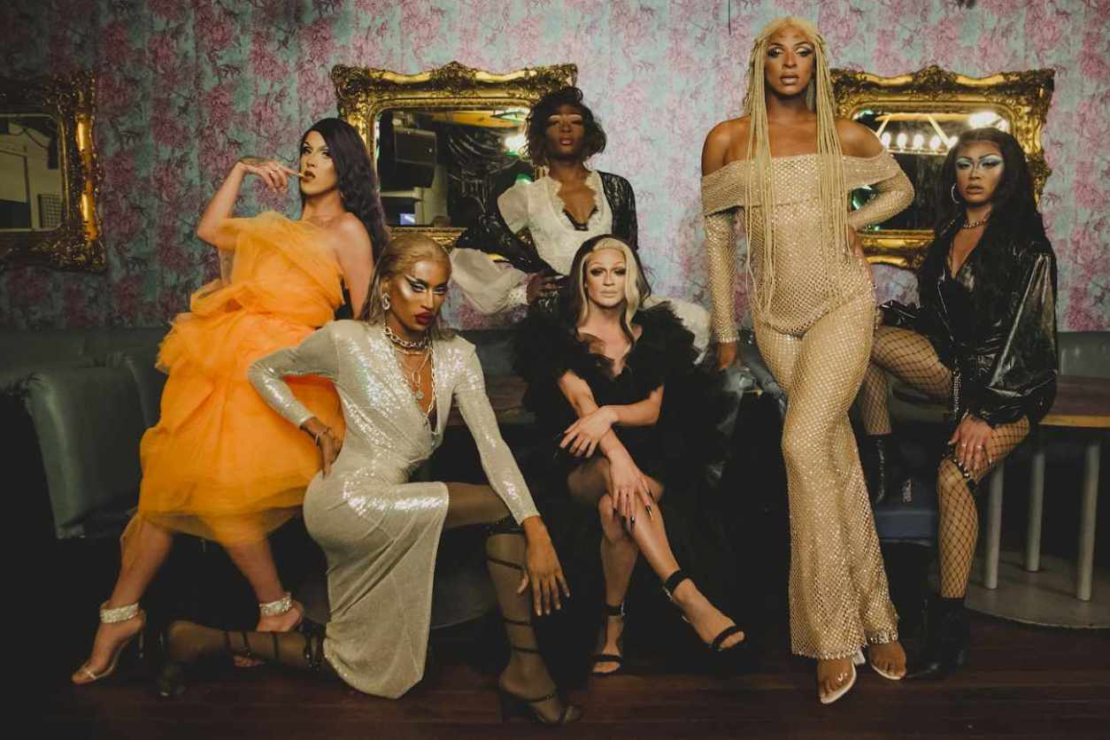 group-of-drag-queens-at-bougie-drag-brunch