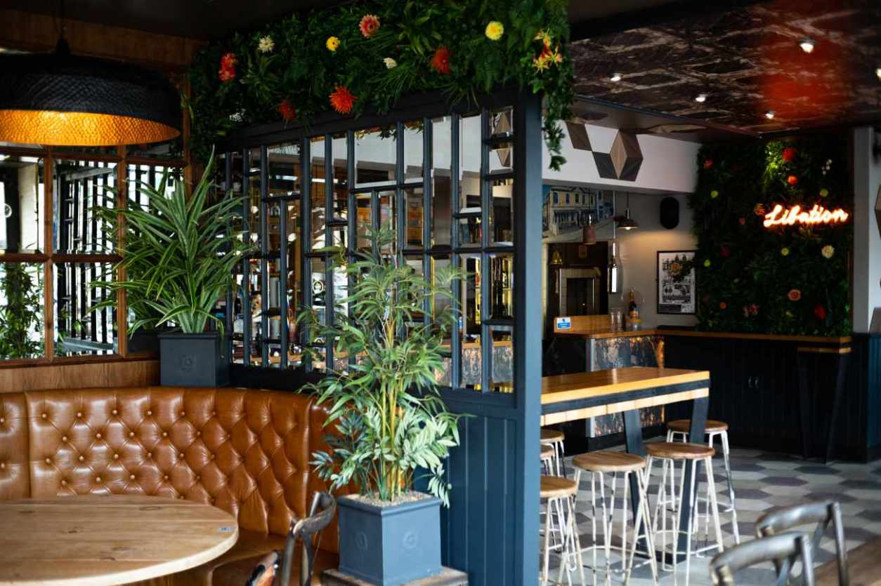 interior-of-libation-bar-and-eatery-bottomless-brunch-brighton