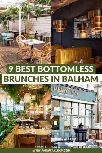 Bottomless Brunch Balham: 9 Best Brunches You Need to Try [2021]. From traditional pub brunches to Mediterranean food to burgers for brekkie, here are the 9 best places to go for bottomless brunch in Balham! Click through to read more...