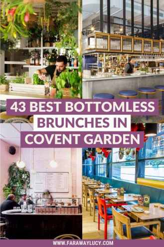 Bottomless Brunch Covent Garden: 43 Brunches You Need to Try [2021]. From drag and karaoke brunches to rooftop brunches with a view, here are the 43 best places to go for bottomless brunch in Covent Garden! Click through to read more...