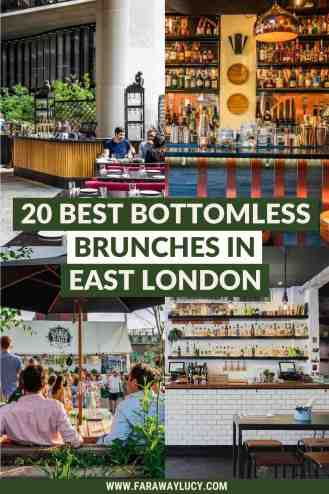 Bottomless Brunch East London: 41 Best Brunches You Need to Try [2021]. From brunch with ping pong and ball pits, to brunch with live music, here are the 41 best places to go for bottomless brunch in East London! Click through to read more...