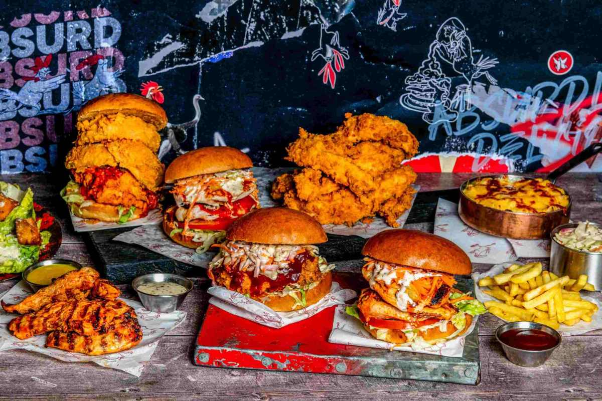 fried-chicken-burgers-and-fries-at-absurd-bird